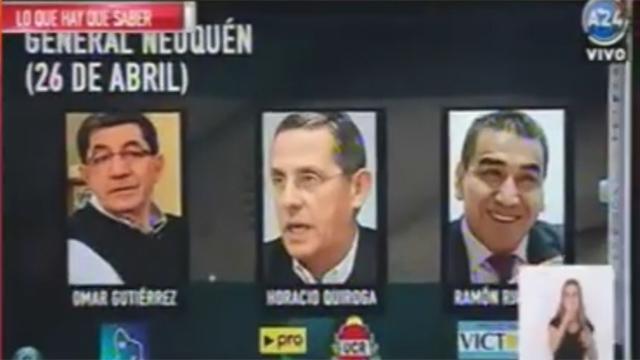 Omar Gutierrez anunciado como gobernador en Argentina