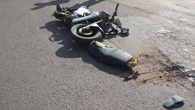 Motociclista falleció atropellado por un camión en Chuy