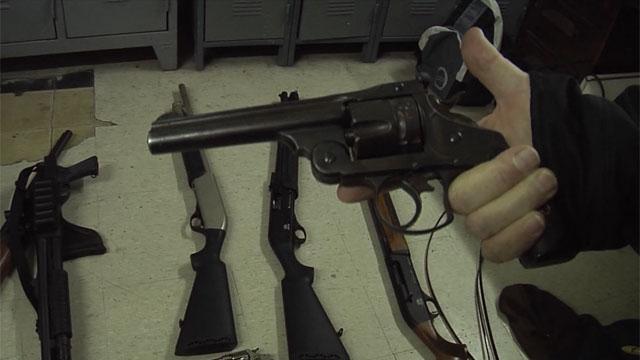 Tenencia irregular de armas: 66% más procesados con respecto al año pasado