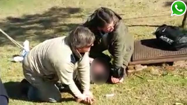 Arresto ciudadano en Nueva Helvecia: ataron al ladrón a un árbol