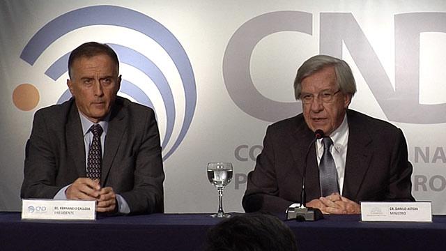 Calloia asumió la presidencia de la Corporación Nacional para el desarrollo