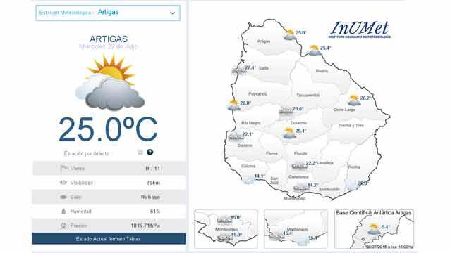 En pleno invierno la temperatura llegó a 27º este miércoles en el norte