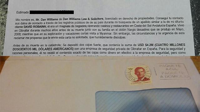 Cuento del tío en San José: llegan cartas anunciando herencia millonaria