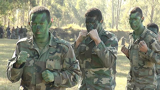 Así entrenan militares uruguayos destacados en competencia antiterrorista