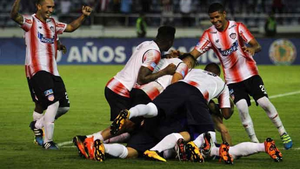 Wanderers quedó fuera de la copa Sudamericana ante Junior de Barranquilla