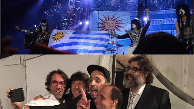 Sábado de grandes recitales: mirá un fragmento de Kiss y el Cuarteto de Nos