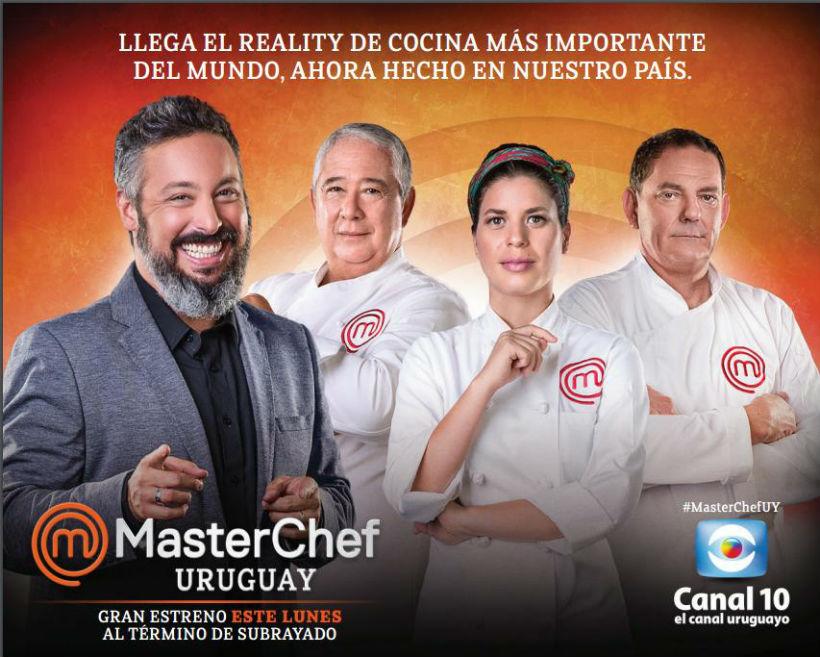 Este lunes comienza MasterChef Uruguay en Canal 10