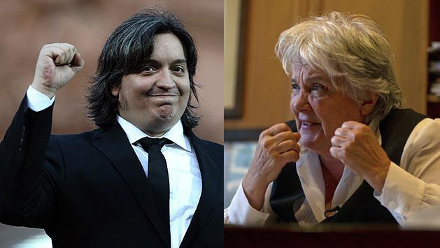Topolansky le augura un futuro político promisorio a Máximo Kirchner
