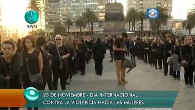 Nueva multitudinaria marcha contra la violencia hacia las mujeres