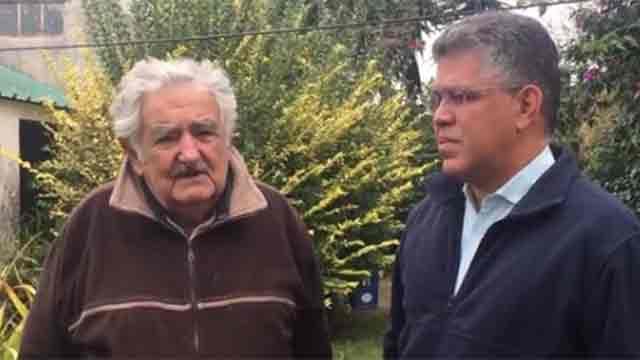 """Mujica envía mensaje a venezolanos desde su chacra: """"todos son mis hermanos"""""""