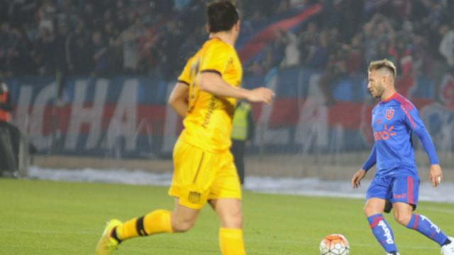 Peñarol perdió su primer amistoso formal, goleó la Universidad de Chile
