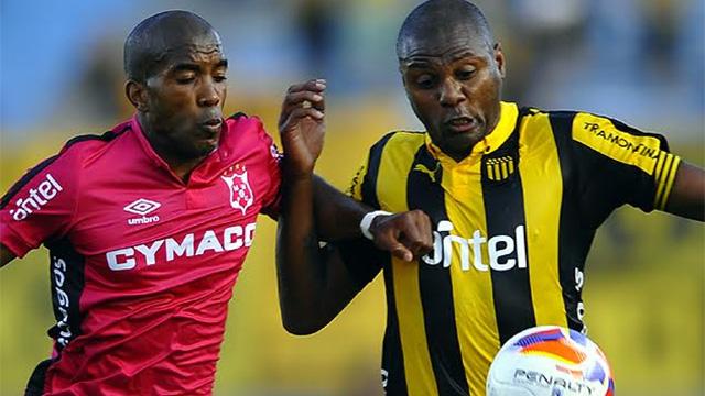 Peñarol y Wanderers empataron 1 a 1 en el Centenario