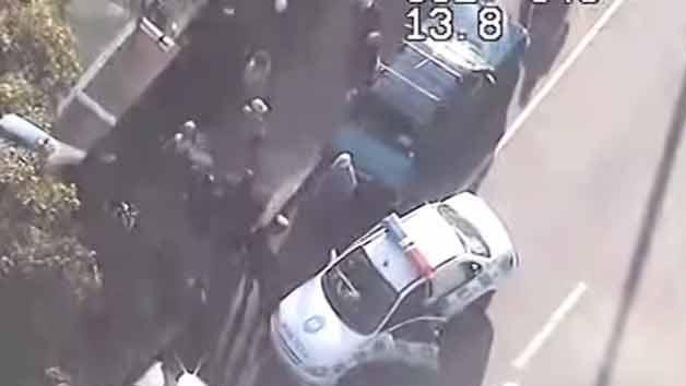 Arresto ciudadano: robó a una mujer pero varias personas lo detuvieron