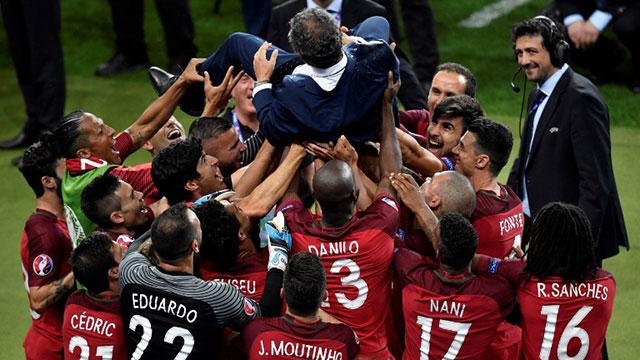 Portugal campeón de la Eurocopa por primera vez en la historia