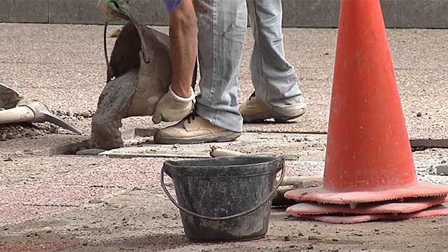 Martínez impulsará plan para reparar veredas en Ciudad Vieja y 18 de Julio