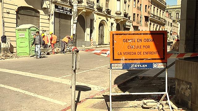 Con la reparación de veredas comenzó Plan de Revitalización de Ciudad Vieja