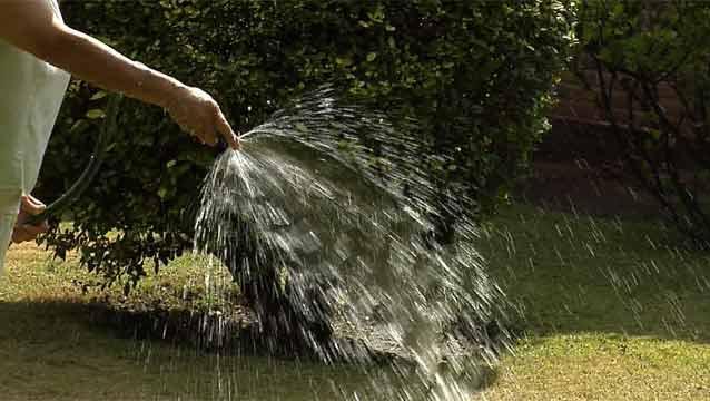 Lista de lugares donde está prohibido malgastar el agua de OSE