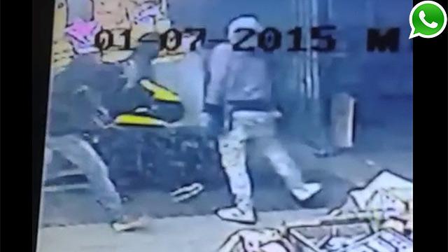 Encapuchados asaltaron supermercado y se llevaron cofre de un Red Pagos