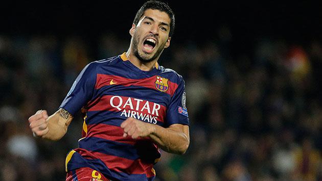 Barça le ganó 4 a 0 al Real Madrid con dos goles de Suárez