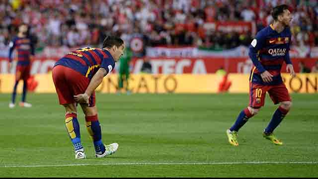 """Suárez dijo que es """"una lesión de 20 días"""" y que irá a la Copa América"""
