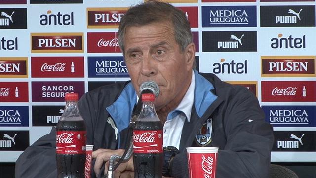 """Tabárez: """"Vencimos a la mejor versión del fútbol chileno"""""""