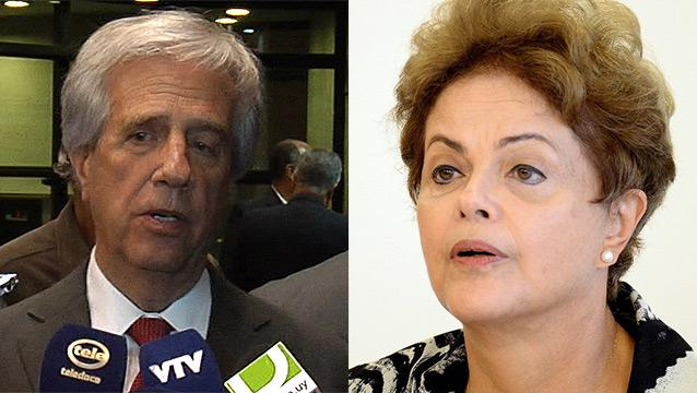 Vázquez se reunirá con Dilma Rousseff el jueves 21 mayo