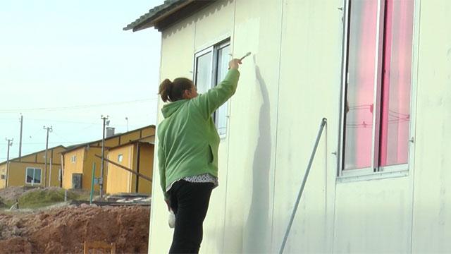 Beneficiarios del programa de vivienda sindical recibieron sus casas